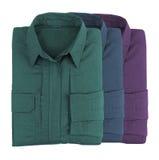 Рубашки стога красочные Стоковые Фотографии RF