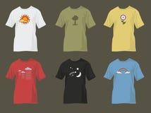 рубашки t природы мотивов Стоковая Фотография RF