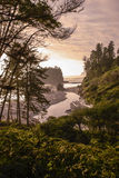 Рубиновый портрет пляжа Стоковая Фотография