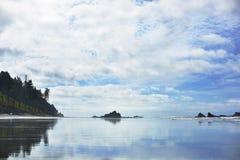 Рубиновый пляж, Вашингтон Стоковое фото RF