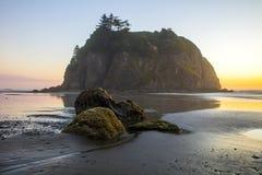 Рубиновый пляж Вашингтон Стоковое Фото