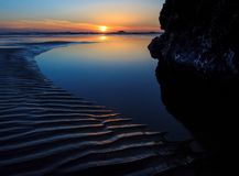 Рубиновый пляж, штат Вашингтон Стоковые Фотографии RF