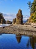 Рубиновый пляж Стоковые Изображения