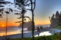 Рубиновый пляж Стоковое фото RF