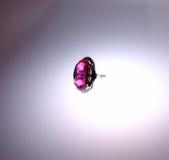 рубин кольца Стоковое Изображение