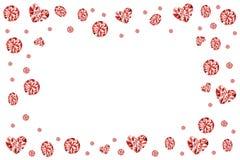 рубин самоцвета рамки Стоковые Фотографии RF