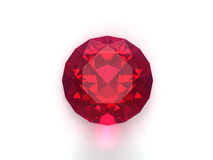рубин gemstone Стоковые Фото