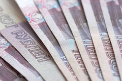 500 рублевок банкнот Стоковое Фото