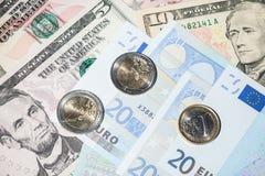 5000 рублевок картины дег счетов предпосылки Стоковые Фото