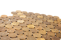 10 рублевок монеток Стоковые Фото