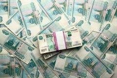 100 рублей банкноты Стоковая Фотография