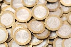 10 рублей предпосылки Стоковые Фото
