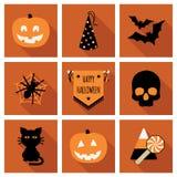 другая тыква икон halloween что-то ведьмы Стоковое фото RF