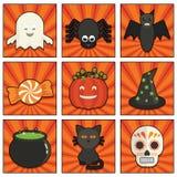 другая тыква икон halloween что-то ведьмы бесплатная иллюстрация