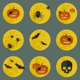 другая тыква икон halloween что-то ведьмы Стоковые Фотографии RF