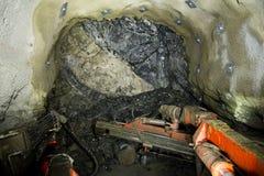 Руда шахты стоковое изображение rf