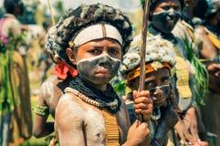 2 друз в Папуаой-Нов Гвинее Стоковое Изображение