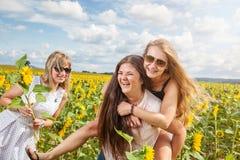 3 друз имея полезного время работы outdoors Стоковое Изображение