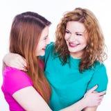 2 друз молодых женщин Стоковые Фотографии RF