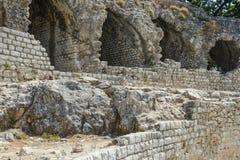 Руина арен Cimiez римская стоковые изображения rf