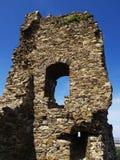 руина замока средневековая Стоковые Изображения RF