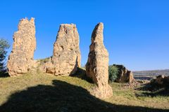 руина замока стоковые изображения