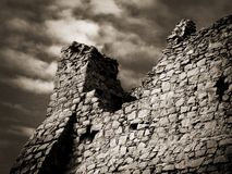 руина замока стоковая фотография