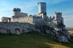 руина замока Стоковая Фотография RF