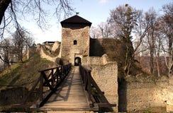 руина замока Стоковое Изображение RF