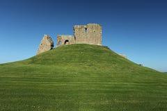 руина крепости средневековая Стоковая Фотография