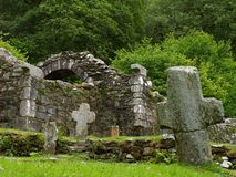 руина крестов Стоковое фото RF