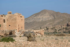 руина пустыни Стоковое Фото