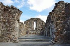 руина irland glendalough Стоковое Изображение