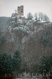 руина neideck замока Стоковое Фото