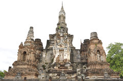 руина pagodas Стоковое Фото