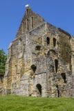 Руины аббатства сражения в восточном Сассекс Стоковые Изображения RF