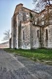 руины аббатства Стоковые Фото