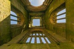 Руины аббатства Стоковая Фотография