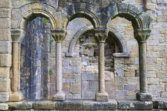 Руины аббатства Стоковое фото RF