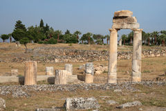 руины акрополя стародедовские римские стоковое изображение