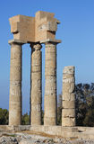 Руины акрополя Стоковое фото RF