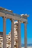Руины акрополя. Стоковое Фото
