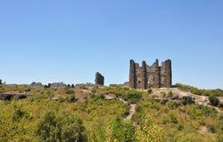 Руины акрополя Стоковое Фото