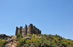 Руины акрополя Стоковое Изображение RF