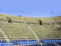 Руины амфитеатра в Caesarea Стоковое Фото