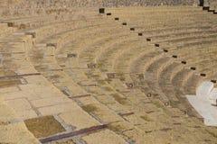 Руины амфитеатра - театра на итальянском Помпеи стоковое фото