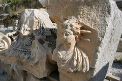 Руины амфитеатра Стоковая Фотография RF