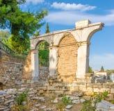 Руины античных сводов Стоковое Изображение RF