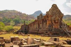 Руины археологических раскопок, Loas Стоковые Изображения RF