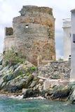Руины башни Стоковые Изображения